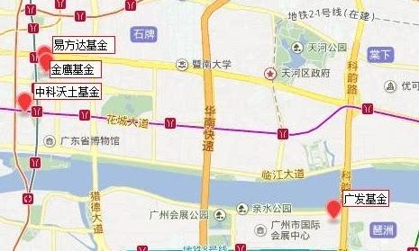 地图,可以明显看出,公募基金的核心区域:北京(金融街),上海(陆家嘴)