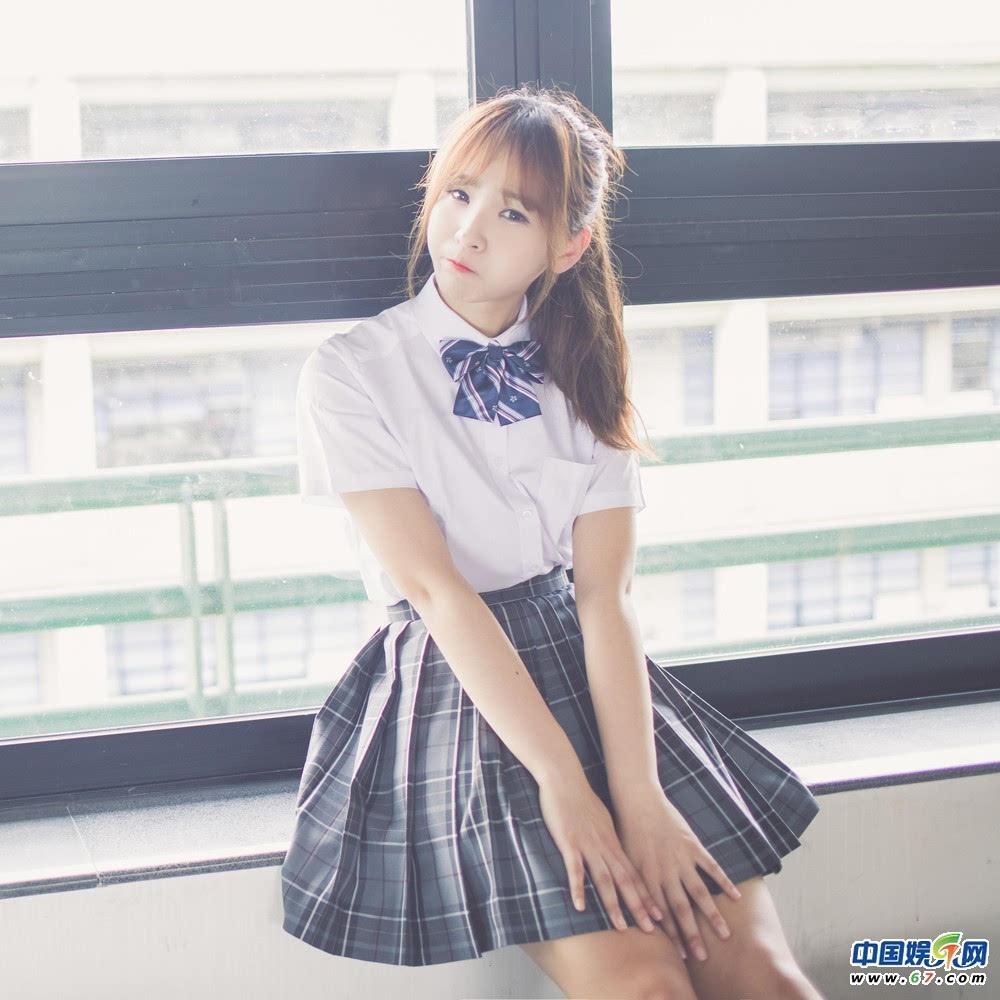 广东工业大学校花气质清纯 侧脸绝美(组图)图片