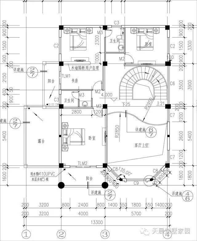 23万 房屋设计图简介:本套别墅为三层独栋别墅设计图,外立面淳朴简单
