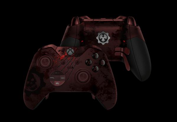 《战争机器4》限量版Xbox精英无线手柄开始接受预定的照片 - 1