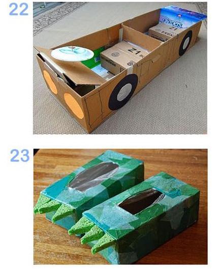 N种大纸箱的创意 实用玩法图片