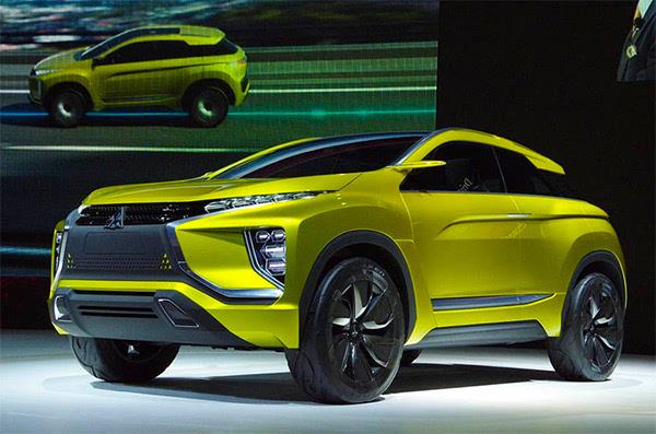 三菱发布SUV概念车预告图 巴黎车展发布高清图片
