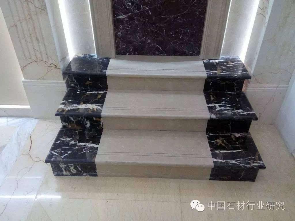 五十款家装大理石楼梯踏步案例