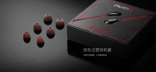 红与黑的碰撞:努比亚发布新款圈铁耳机 售价99元的照片 - 12