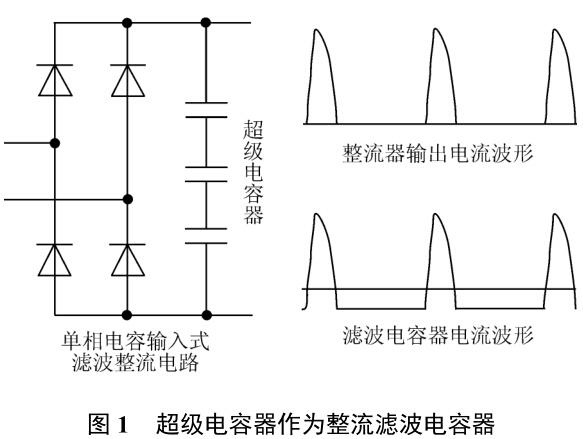 超级电容器在整流滤波中的应用