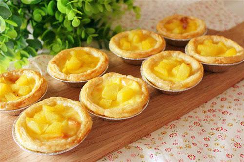蛋挞的制作方法_黄桃蛋挞的制作方法 蛋挞多样做法
