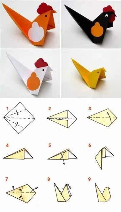 一张纸让孩子对你刮目相看 假期和孩子这样玩折纸图片