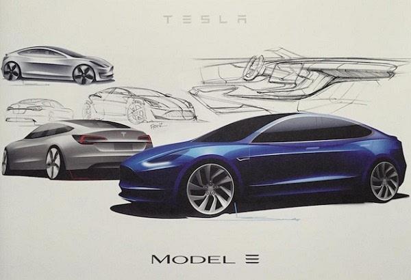 特斯拉Model 3规格泄露:动力依然强劲、快得不可思议的照片