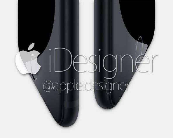 深色版 iPhone 7 概念设计:眼前的黑不是黑的照片 - 2