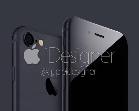 深色版 iPhone 7 概念设计:眼前的黑不是黑的照片 - 1