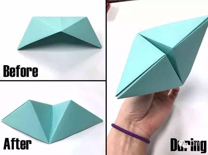 纸折三角步骤图解