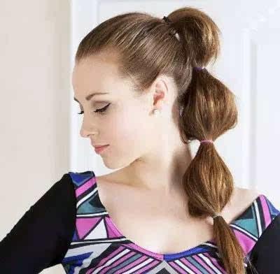 10款简单扎头发的方法,让你和夏天来个甜蜜约会