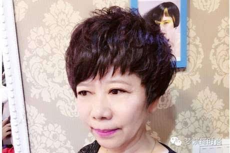 """今年短发 流行烫""""微蓬头""""图片"""
