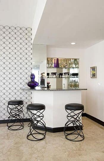 7个家庭吧台装修效果图 去酒吧的钱都省了 图