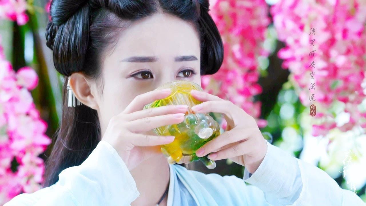 而最近赵丽颖为了新戏《楚乔传》 竟然瘦了8斤!