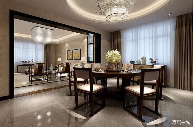 黑檀木新中式家具慢散其华,焚香静气,一壶清茶煮酒,也有清香,也有