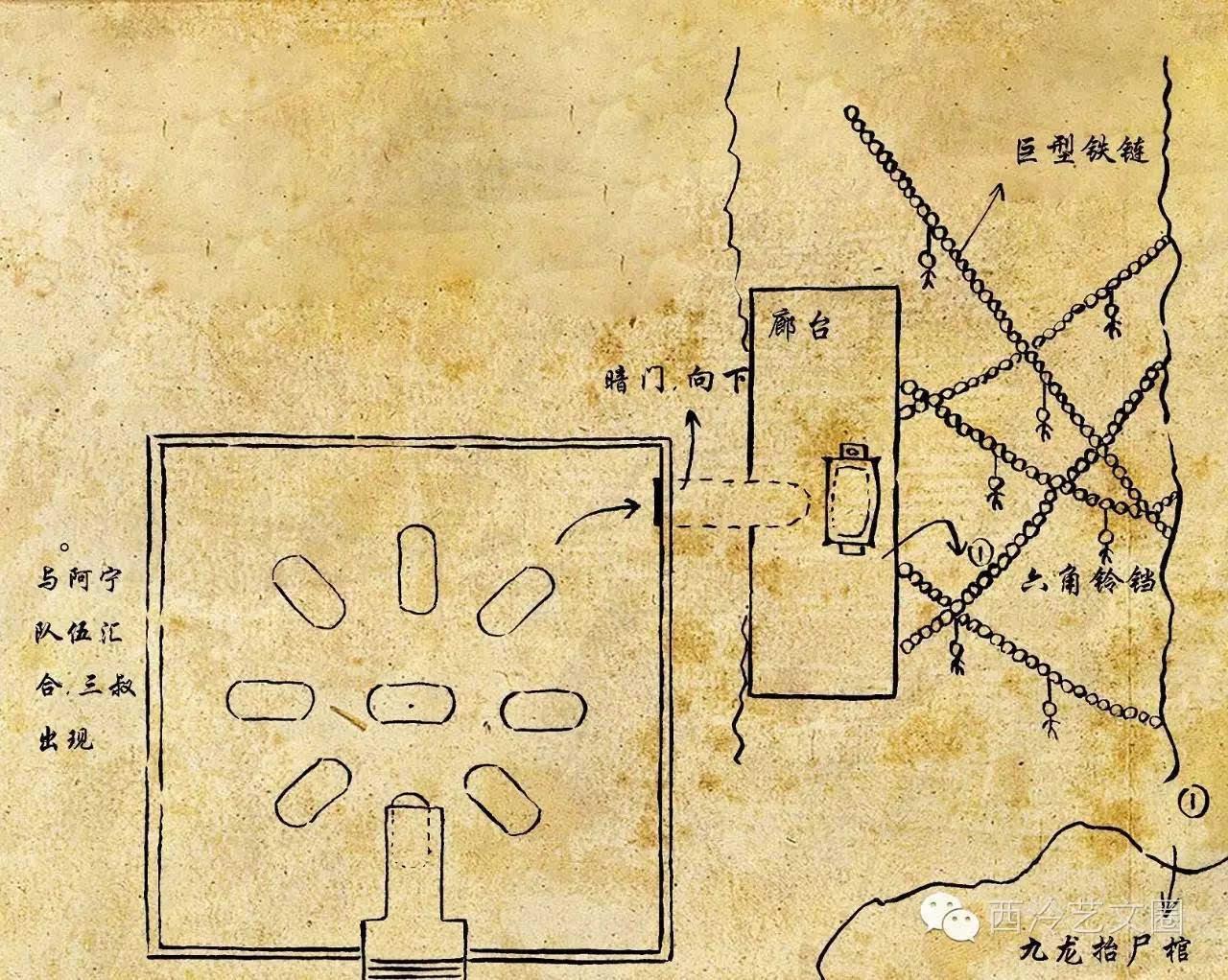 (注:所有手绘地图原作者为邵宇宸,著作权归西泠印社集团