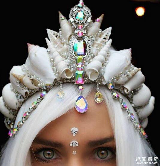 也会搭配脸部的妆容,让人看起来更有整体感.-美爆了 她把贝壳变高清图片