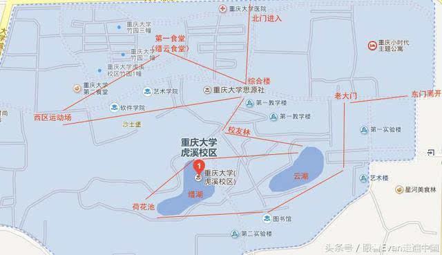 重庆大学虎溪校区游玩攻略