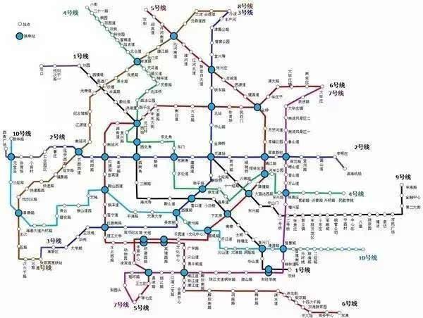 天津市地铁6号线最新线路图片