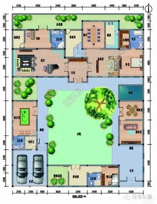 8套新农村别墅设计,中式欧式选哪个好?