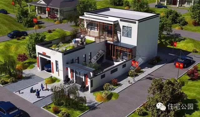 8套新农村别墅设计,选哪个 农村有地的转起来