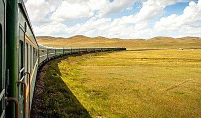 坐火车去蒙古国