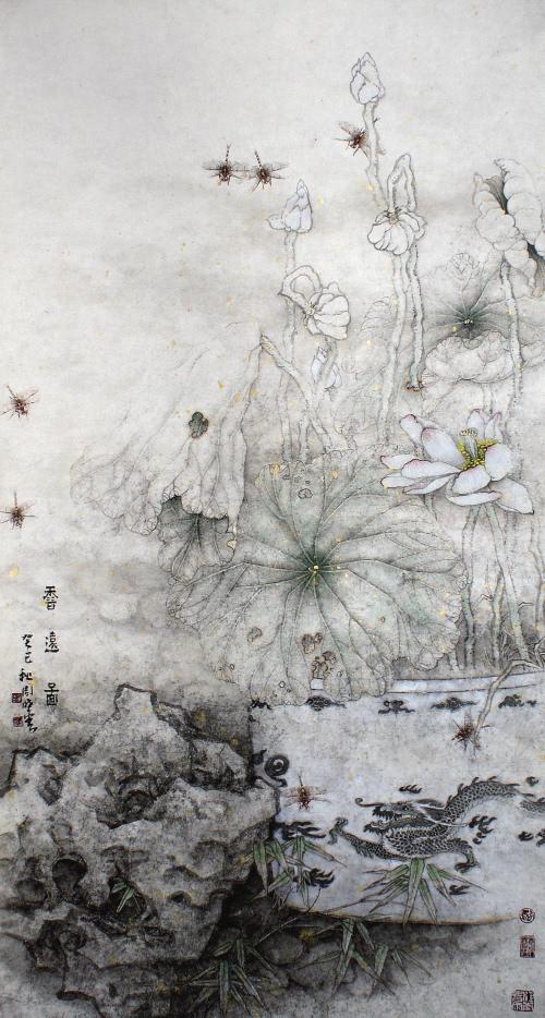 周晓云工笔画欣赏