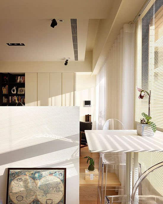 厨房手绘成角透视