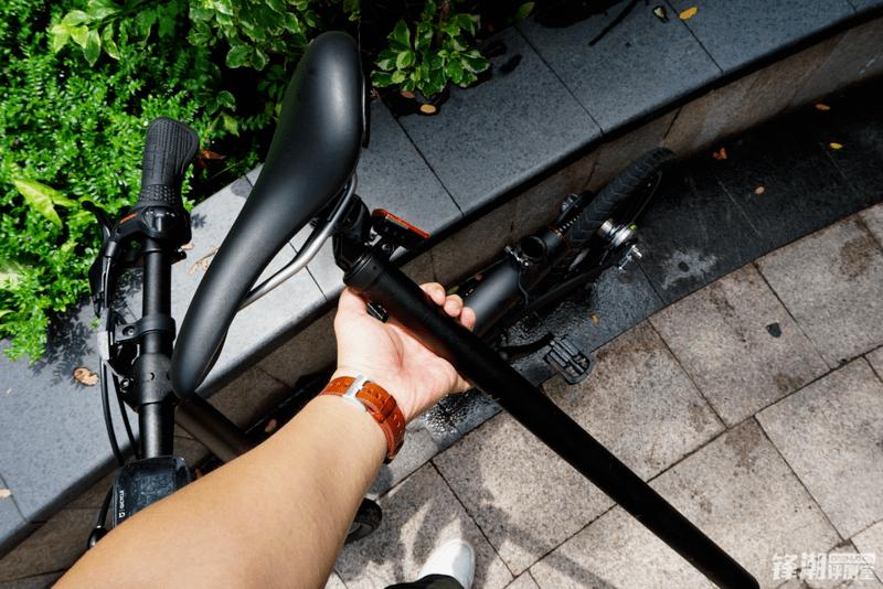 老司机的第一辆电助力车:小米米家电助力自行车图赏的照片 - 32