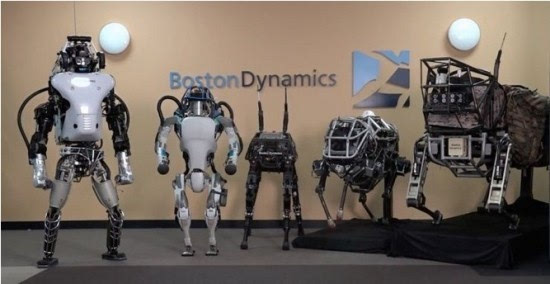 24v无刷电机控制器,[剖析]波士顿动力被弃背后 多足机器人的困境