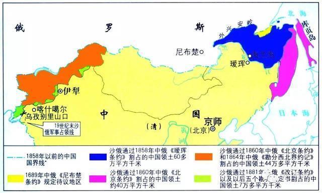 中国永远的痛 图们江出海口(10张地图,图片全景展示)