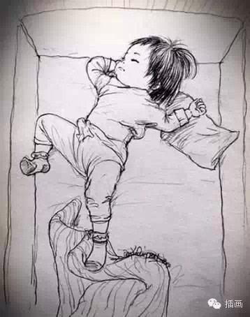 父亲手绘漫画记录女儿成长史,引泪奔
