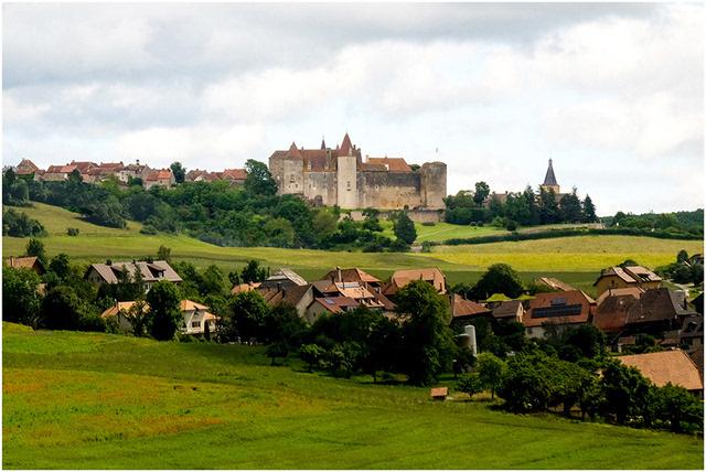 瑞士小镇与田园风光