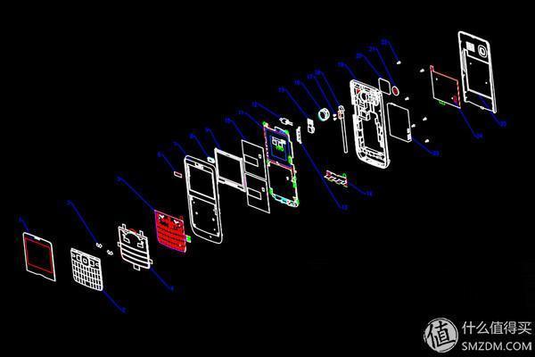 手机整机电路框架图