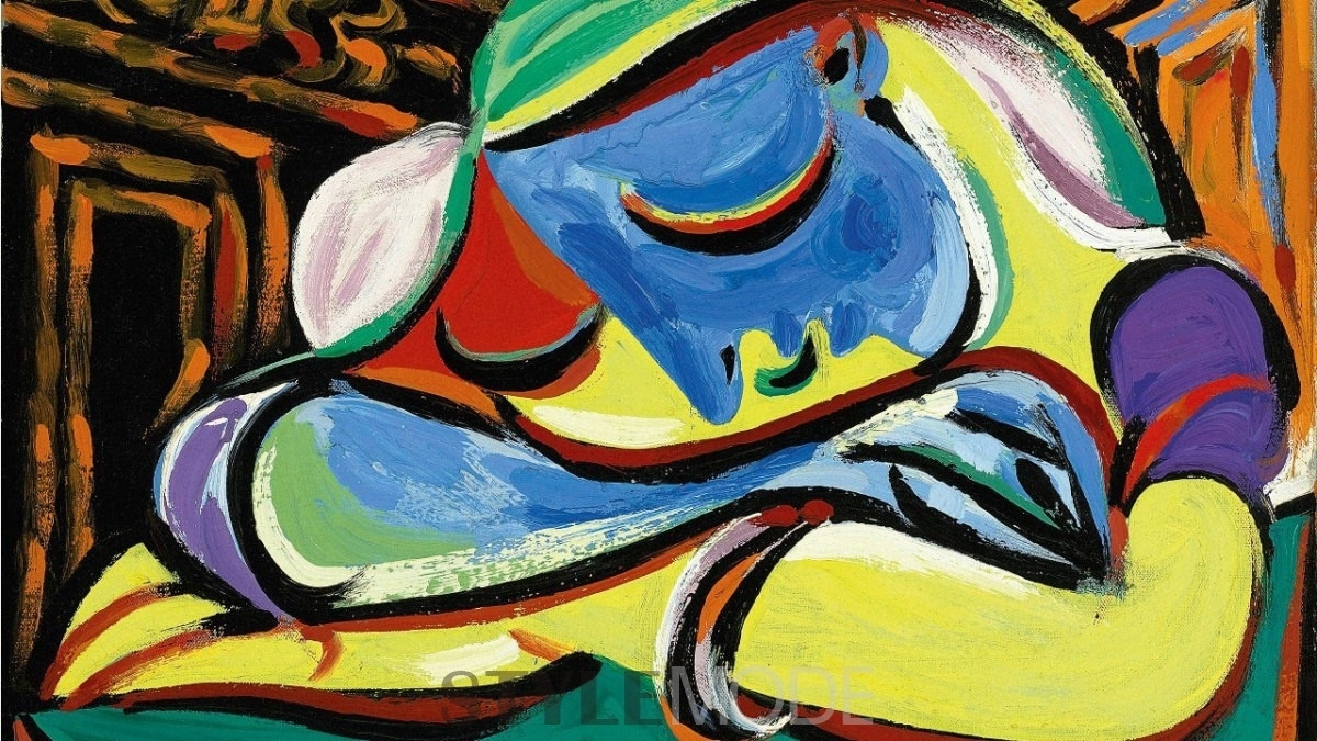毕加索 颠倒的艺术时间线