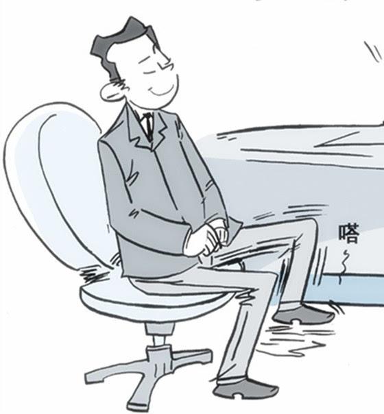 """北京体育大学运动生理学博士汪军说,""""久坐不动,会导致气血不畅,使肌肉"""