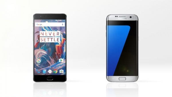 大内存或弧形屏?一加3和Galaxy S7 edge规格对比的照片 - 1