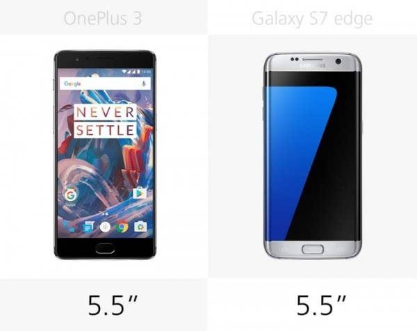 大内存或弧形屏?一加3和Galaxy S7 edge规格对比的照片 - 6
