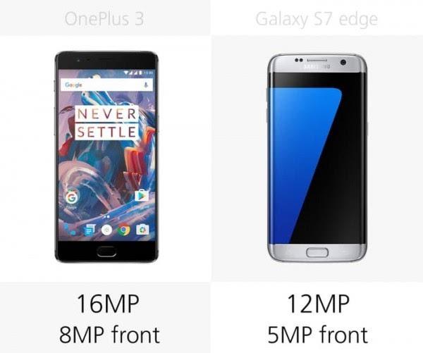 大内存或弧形屏?一加3和Galaxy S7 edge规格对比的照片 - 16