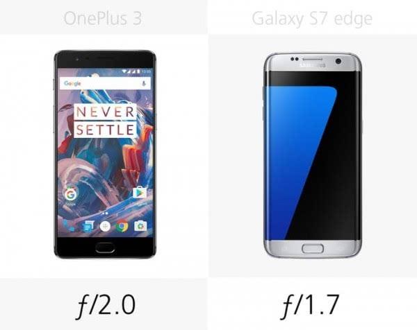 大内存或弧形屏?一加3和Galaxy S7 edge规格对比的照片 - 17