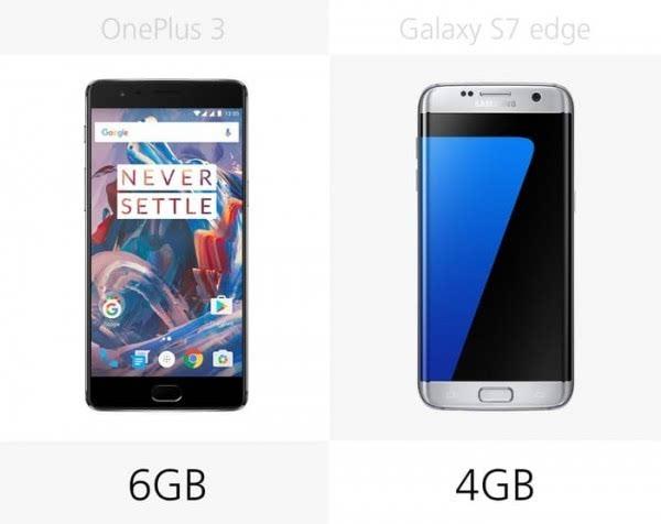 大内存或弧形屏?一加3和Galaxy S7 edge规格对比的照片 - 20