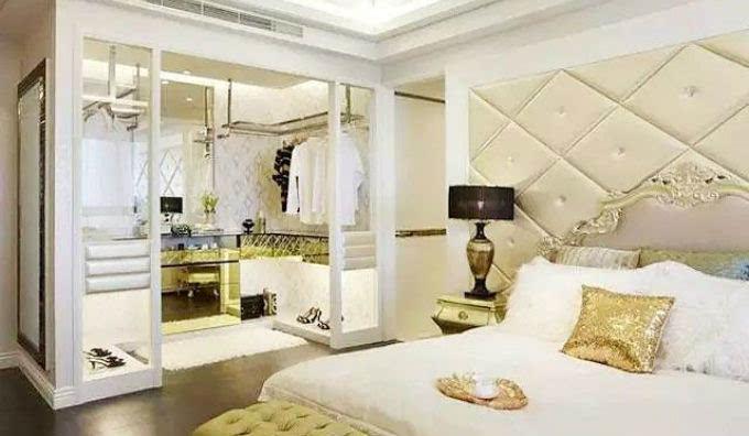 11个卧室衣帽间设计方案 与时尚同眠!