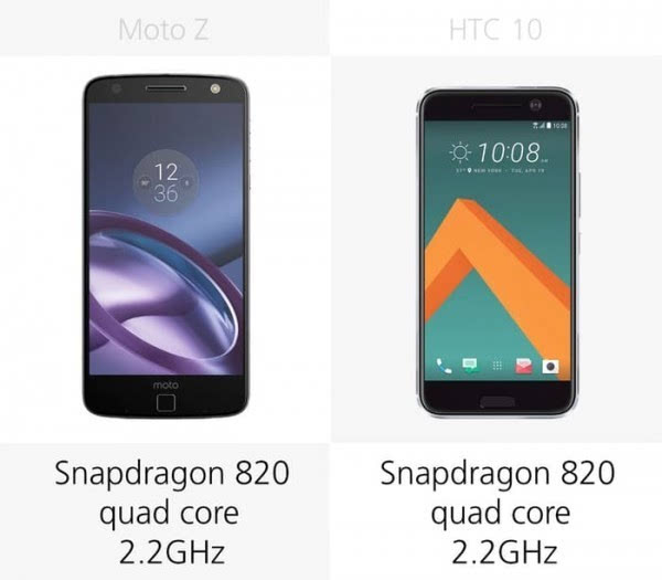 Moto Z和HTC 10规格参数对比的照片 - 13