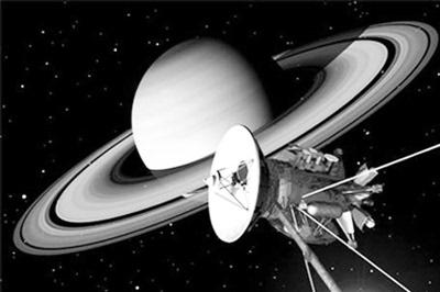 探测器,它利用木星的磁场,引力场及天然出现的电磁波来研究这颗巨大