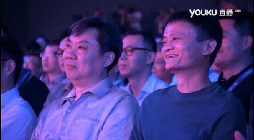 马云罗永浩现身阿里上汽互联网汽车荣威RX5发布会现场的照片 - 2