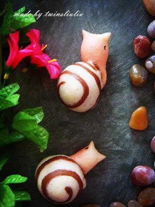 花样面食之蜗牛馒头
