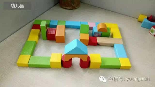 免费分享:上百种木制搭建积木拼法