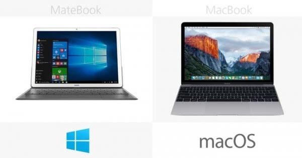 华为MateBook和苹果MacBook规格参数对比的照片 - 22