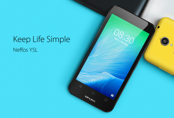TP-Link发布入门级智能手机Y5L的照片 - 1